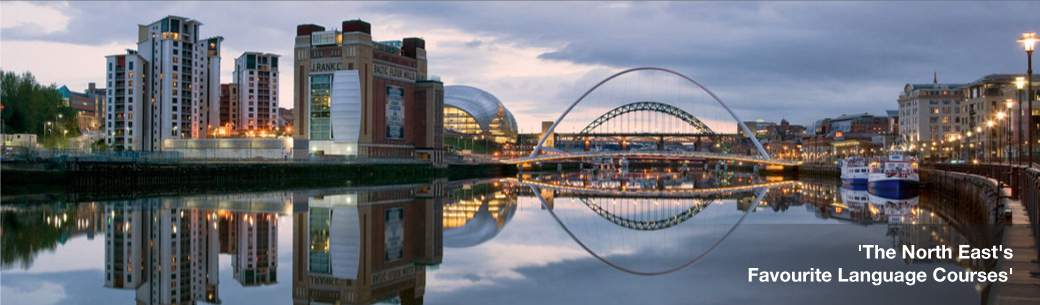 Language Lessons in Newcastle, Sunderland, Durham, Middlesbrough or Skype